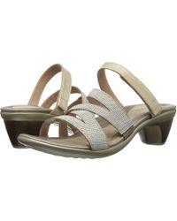 Naot - Formal (polar Sea Leather/dark Blue/nickel Rivets) Women's Shoes - Lyst