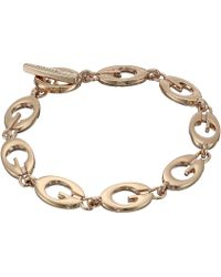Guess - Link Bracelet Iii (rose Gold) Bracelet - Lyst