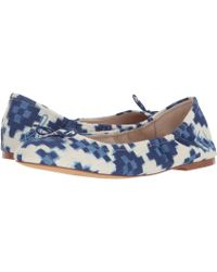 Sam Edelman - Felicia 3 Floral-embroidered Fabric Flats - Lyst