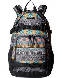 Burton - Riders Pack 25l (faded Flight Satin) Backpack Bags - Lyst