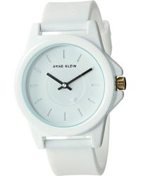 Anne Klein - Ak-3206wtwt (white) Watches - Lyst