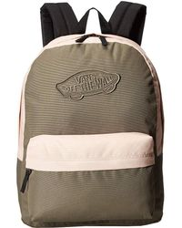 5ecf4f6e9f Vans - Realm Backpack (black Desert Rose) Backpack Bags - Lyst
