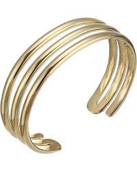 Miansai - Expo Cuff Bracelet (polished Gold) Bracelet - Lyst