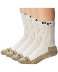 Dan Post - Work & Outdoor Socks Mid Calf Heavyweight Steel Toe 4 Pack - Lyst
