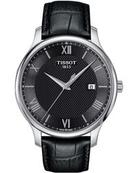 Tissot - Tradition - T0636101605800 (mother-of-pearl/black) Watches - Lyst