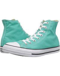 a8679035d5c8 Lyst - Converse Chuck Taylor(r) All Star(r) Seasonal Color Hi (white ...