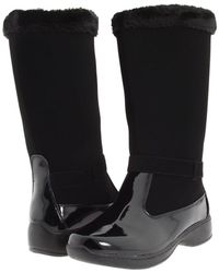 Tundra Boots - Sara (black) Women's Cold Weather Boots - Lyst