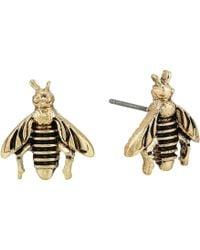 The Sak - Bee Stud Earrings (gold) Earring - Lyst
