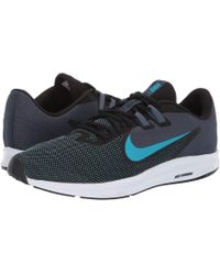 98d7f82e4a4c Nike - Downshifter 9 (midnight Navy pure Platinum) Men s Running Shoes -  Lyst