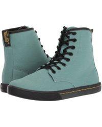 Dr. Martens - Sheridan Octavo (black Mohawk Non Woven Synthetic/black Soft Pu) Women's Boots - Lyst
