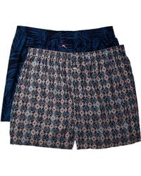Tommy Bahama - Island Washed Cotton Woven Boxer Set - Lyst