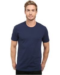 Agave - Agave Supima Crew Neck Short Sleeve Tee (black) Men's T Shirt - Lyst