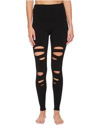 Hard Tail - Flat Waist Laser Ankle Leggings (black) Women's Casual Pants - Lyst