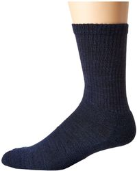 Smartwool - Heathered Rib (medium Gray) Men's Crew Cut Socks Shoes - Lyst