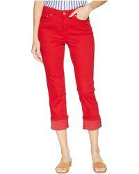 Lauren by Ralph Lauren - Straight Mid-rise Jeans - Lyst