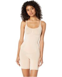 Spanx - Oncore Mid-thigh Bodysuit (very Black) Women's Jumpsuit & Rompers One Piece - Lyst