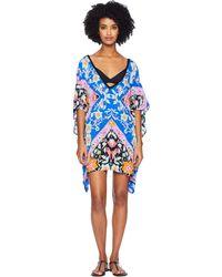 cee4154fc4 Nanette Lepore - Flower Bomb Scarf Caftan Cover-up (multi) Women s Swimwear  -