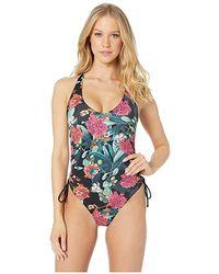 a169db2225 Panache Cleo Hattie Tie Side Bikini Bottom in Blue - Lyst