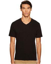 Vince - Short Sleeve Slub V-neck (optic White) Men's T Shirt - Lyst