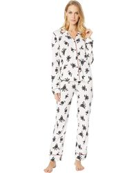 Pj Salvage - Give Love Pj Set (black) Women's Pajama Sets - Lyst