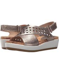 Pikolinos - Mykonos W1g-1602cl (stone) Women's Sling Back Shoes - Lyst