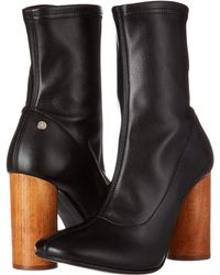 Manila Grace - Ankle Bootie With Statemented Heel (v.unica) Women's Boots - Lyst