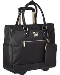 Kenneth Cole Reaction - Call It Off - Nylon Wheeled Tote (black) Pullman Luggage - Lyst