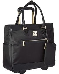 Kenneth Cole Reaction - Call It Off - Nylon Wheeled Tote (navy) Pullman Luggage - Lyst