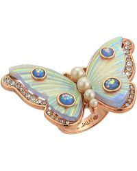 Betsey Johnson - Butterfly Statement Ring - Lyst