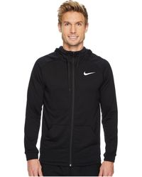 ac8be0cb386199 Nike - Dry Training Full-zip Hoodie (dark Grey Heather black black