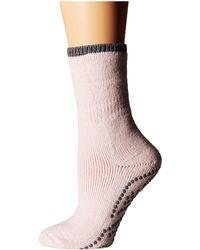 Falke - Cuddle Pad Sock (black) Women's Crew Cut Socks Shoes - Lyst