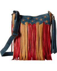 STS Ranchwear - Patriot Crossbody (red/tan/blue) Cross Body Handbags - Lyst