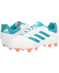 96c6268c6 adidas - Goletto Vi Fg (white/energy Blue/easy Coral) Women's Soccer