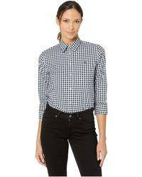 b2bb5434c9488 Lauren by Ralph Lauren - No-iron Button Down Shirt (lauren Navy white