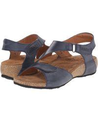 Taos Footwear - Rita (navy) Women's Sandals - Lyst