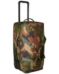 Herschel Supply Co. - Wheelie Outfitter (black Crosshatch) Carry On Luggage - Lyst
