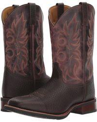 Laredo - Durant (dark Brown) Cowboy Boots - Lyst