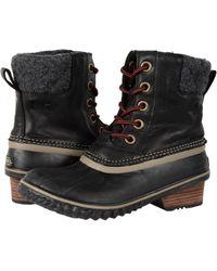 Sorel - Slimpack Ii Lace (burro/cattail Nubuck Leather) Women's Waterproof Boots - Lyst