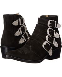 Toga Pulla | TP22-AJ006 Suede Ankle Boots | Lyst