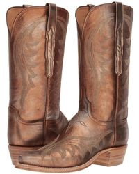 Lucchese - Lily (antique Bronze) Cowboy Boots - Lyst