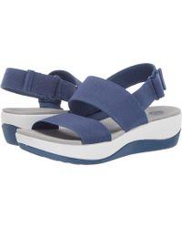0255d6c6366012 Clarks - Arla Jacory (sand) Women s Sandals - Lyst