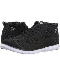 Propet - Travelfit Hi (black Metallic) Women's Shoes - Lyst