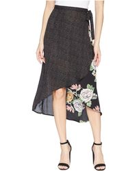 Bishop + Young - Enchanted Garden Mix Media Skirt - Lyst