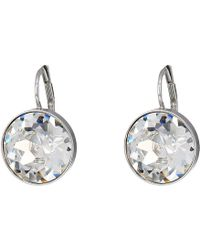 Swarovski - Bella Pierced Earrings (crystal Clear) Earring - Lyst