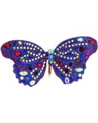 Betsey Johnson - Purple Butterfly Pin (purple) Brooches Pins - Lyst