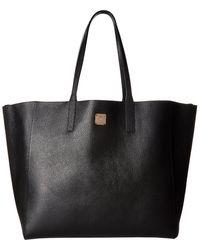 MCM - Wandel Shopper Large (black) Handbags - Lyst