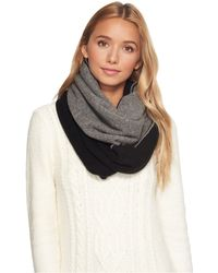 UGG - Two Color Infinity Scarf - Lyst