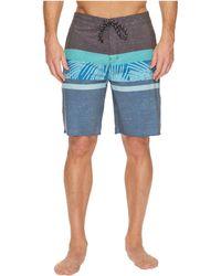 Rip Curl - Rapture Fill Layday Boardshorts (blue 1) Men's Swimwear - Lyst