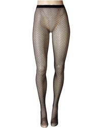 Natori - Herringbone Net Tights (black) Hose - Lyst
