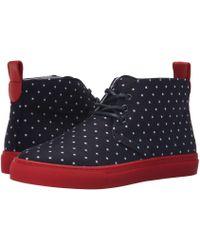 Del Toro - High Top Chukka Sneaker (black Neoprene) Men's Shoes - Lyst